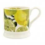 Half Pint Mug Vegetable Garden Lemons