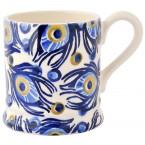 Half Pint Mug Peacock