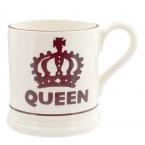 Half Pint Mug Queen