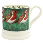 Half Pint Mug Robin on the Green