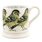 Half Pint Mug Birds Siskin