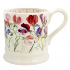 Half Pint Mug Sweet Pea Multi