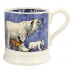 Half Pint Mug Winter Animals