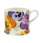 Small Mug Purple Pansy