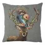 Gobelin Kussen Funky Deer Hoed