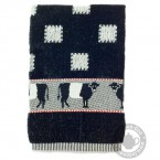 Handdoek Koe Zwart