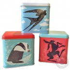 John Hanna Storage Tins (set)
