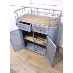 Factory Trolley Grijs (Dressoir)