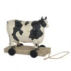 Koe (bont) op Wielen.