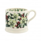 Small Mug Hellebore & Holly