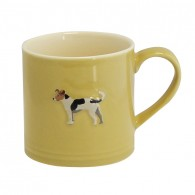 Bailey Mug 250ml Jack Russel Mustard
