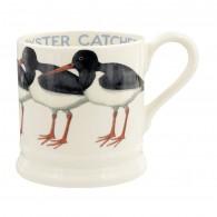 Half Pint Mug Birds Oyster Catcher