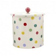 Biscuit Barrel Polka Dots
