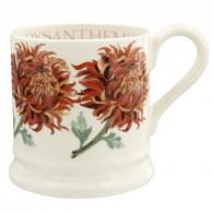Half Pint Mug Flowers Chrysanthemum