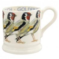 Half Pint Mug Birds Goldfinch