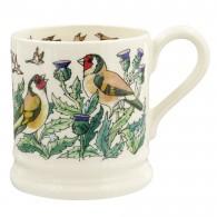 Half Pint Mug Goldfinches