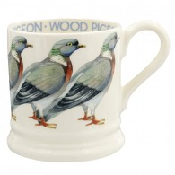 Half Pint Mug Wood Pigeon