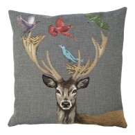 Gobelin Kussen Funky Deer Nest