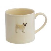 Bailey Mug 250ml Pug Mopshond Cream