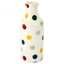 Ginger Beer Vase Polka Dots