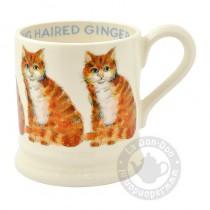 Half Pint Mug Ginger Cat
