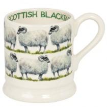 Half Pint Mug Scottish Blackface