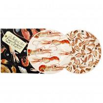 8 1/2 Inch Plates Langoustines & Shrimps