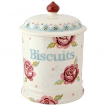 Storage Jar Biscuits Rose & Bee (large)