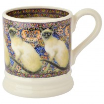 Half Pint Mug Cat Siamese
