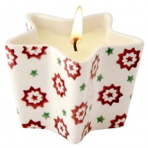 Star Candle Christmas Rose
