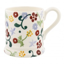 Half Pint Mug Floral Spring