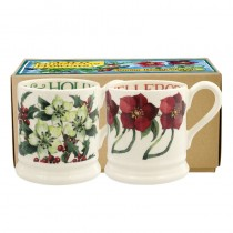 Half Pint Mug Winter Flowers 2018 (set)