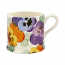 Small Mug Purple Pansy