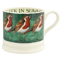 Small Mug Robin on the Green