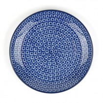 Bord 20 cm. Blue Diamond