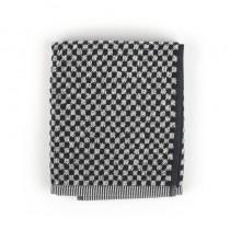 Handdoek BC Small Check Black