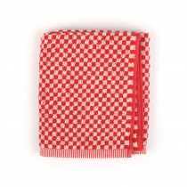 Handdoek BC Small Check Red