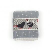 Handdoek BC Chicken Grey