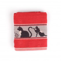 Handdoek BC Cats Red