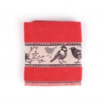 Handdoek BC Birds Red