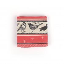 Theedoek BC Birds Red