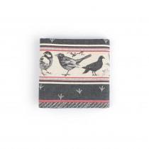 Theedoek BC Birds Black