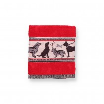 Handdoek BC Hond Rood