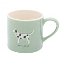 Bailey Mug 250ml Spotty Green