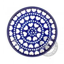 Bord 16 cm. Blue Valentine