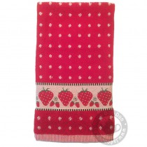 Handdoek BC Strawberry Red
