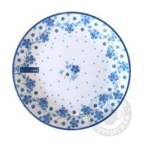Bord 16 cm. Blue White Love