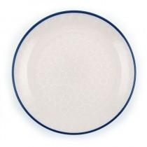 Bord 23.5 cm. White Lace