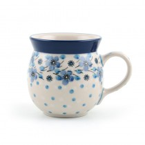 Farmers Mug 240 ml. Blue White Love
