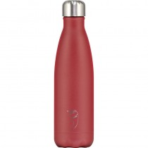 Chilly's Bottle Matte Red 500ml